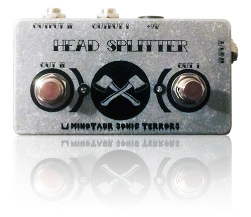 Head splitter amp selector amplifier utility pedal stompbox effect ABY